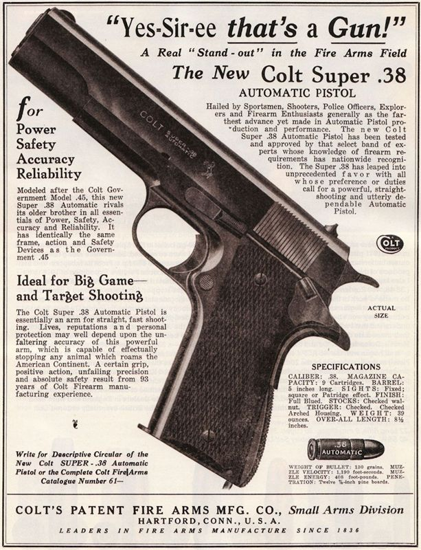 .38 Super Advertisement