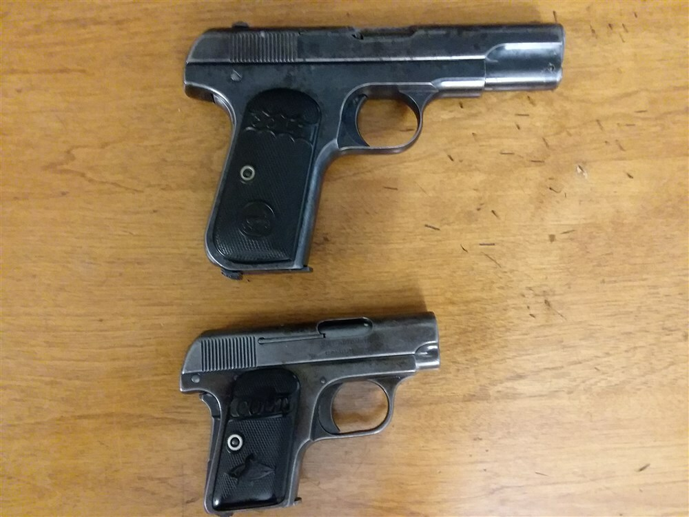 Colt 1903 and 1908