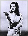 "Poster of Diana Rigg as Mrs. Emma Peel in ""The Avengers""."