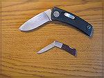 I've had the larger Gerber knife since 1984, but no longer carry it. The smaller is my current pocket carry.