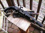 "This is my reworked Black Powder Pirate Pistol before the ""Incident"""