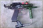 Paintball gun.