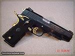 A Taurus 1911 in .38 Super that was offered for a while. A bit too tarted out for me, but the price, on a close out, was $399.95. It was also offered in bright stainless, with the gold small parts.