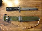 My M5-1 bayonet, issued to me in 1956 in North Caroiina.