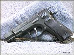 CZ75 9mm pistol, built in 1987, no import mark, original 15 round magazines (current models use 16 round magazines).