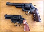Model 25-5 and 1917 Brazillian Snubby