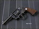 "Colt Official Police with 4"" barrel, caliber .38 Special.  Made in 1943."