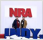 Mark and Eric Freburg in Indianapolis for the 2019 NRA annual Meetings and trade show.