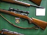 Remington Model 720 rifles purchased by the Michigan State Police and used as sniper rifles.