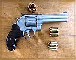 Smith and Wesson 625-2 chambered in .45 ACP complete with new rear sight and no end-shake.